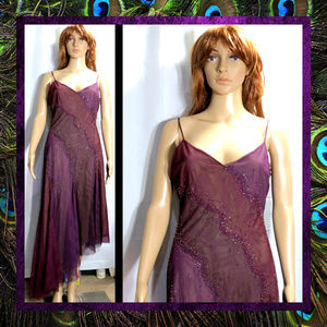 Purple Evening Dress by BCBG Max Azria #059